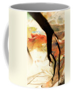 Harsh Shadows On Drop Cloth Coffee Mug