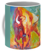 Hartsel Bison In Springtime Coffee Mug