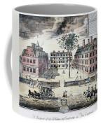 Harvard College, C1725 Coffee Mug by Granger