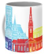 Harvard Ma Skyline Pop Coffee Mug