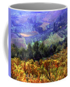 Harvest Time At The Vineyard Coffee Mug by Elaine Plesser