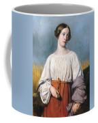 Harvester Holding Her Sickle Coffee Mug