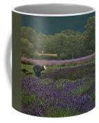 Harvesting The Lavender, Long Island Coffee Mug