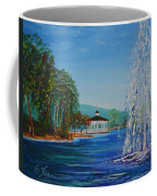 Harveston Lake Fountain Coffee Mug