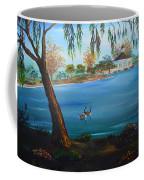 Harveston Lake Geese Coffee Mug