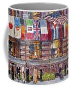 Hassam: Allied Flags, 1917 Coffee Mug