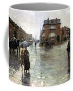 Hassam: Rainy Boston, 1885 Coffee Mug