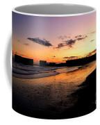 Hastings Harbour Arm At Sunset Coffee Mug