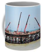 Hastings Pier, England Coffee Mug