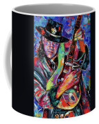 Hat And Guitar Coffee Mug