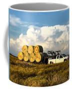 Hauling Hay Bales Coffee Mug