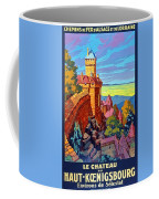 Haut Koenigsburg Castle, Alsace, France Coffee Mug
