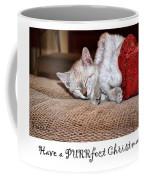 Have A Purrfect Christmas Coffee Mug