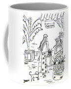 Hawaii Market Place Coffee Mug