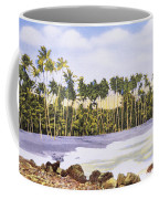 Hawaii Postcard Coffee Mug