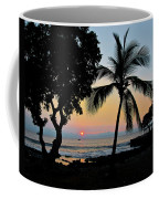 Hawaiian Big Island Sunset  Kailua Kona  Big Island  Hawaii Coffee Mug