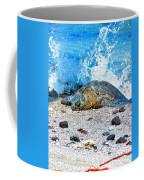 Hawaiian Green Turtle Honu Coffee Mug