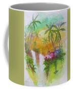 Hawaiian Homestead In The Valley #460 Coffee Mug