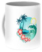 Hawaiian Island 2 Coffee Mug