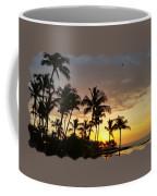 Hawaiian Sunset Design Coffee Mug