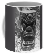 Hawaiian Tiki God Ku Coffee Mug