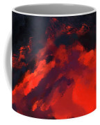 Hawaiian Volcano Lava Flow Coffee Mug