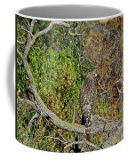 Hawk In Hiding Coffee Mug