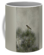 Hawk In The Treetop Coffee Mug