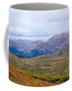 Hawk Soaring Over Guanella Pass In The Arapahoe National Forest Coffee Mug