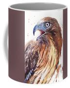 Hawk Watercolor Coffee Mug