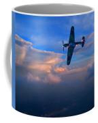 Hawker Hurricane On Dawn Patrol Coffee Mug