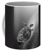 Hawksbill Turtle Ascending Coffee Mug by Steve Jones