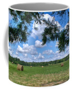 Hay Field In Summertime Coffee Mug