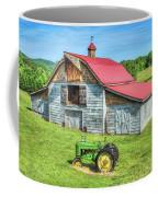 Hayesville Barn And Tractor Coffee Mug
