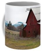 Hayfork Red Barn Coffee Mug