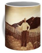 Haymaker With Pitchfork Vintage Coffee Mug