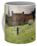 Haymaking In Brittany Coffee Mug
