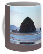 Haystack At Cannon Beach In June Coffee Mug