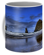 Haystack Rock And The Needles Coffee Mug