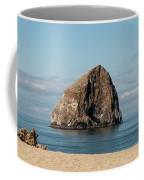 Haystack Rock - Pacific City Oregon Coast Coffee Mug