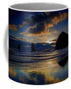 Haystack Sunset Coffee Mug
