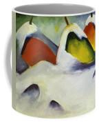 Haystacks In The Snow 1911 Coffee Mug