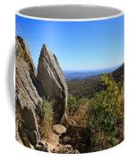 Hazel Mountain Overlook On Skyline Drive In Shenandoah National Park Coffee Mug