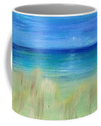 Hazy Beach Mini Oil On Masonite Coffee Mug