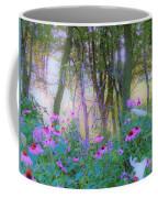 Hazy Garden Sunrise Coffee Mug