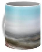 Hazy Winter Landscape Coffee Mug by Wolfgang Schweizer
