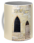 He Is My Refuge Coffee Mug