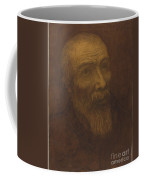 Head Of A Bald Man With A Beard Coffee Mug