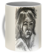 Head Of A Girl Coffee Mug