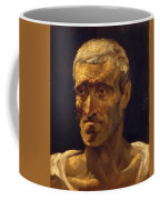 Head Of A Shipwrecked Man Study For The Raft Of Medusa 1819 Coffee Mug